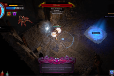Inside the Azurite Mine in Path of Exile