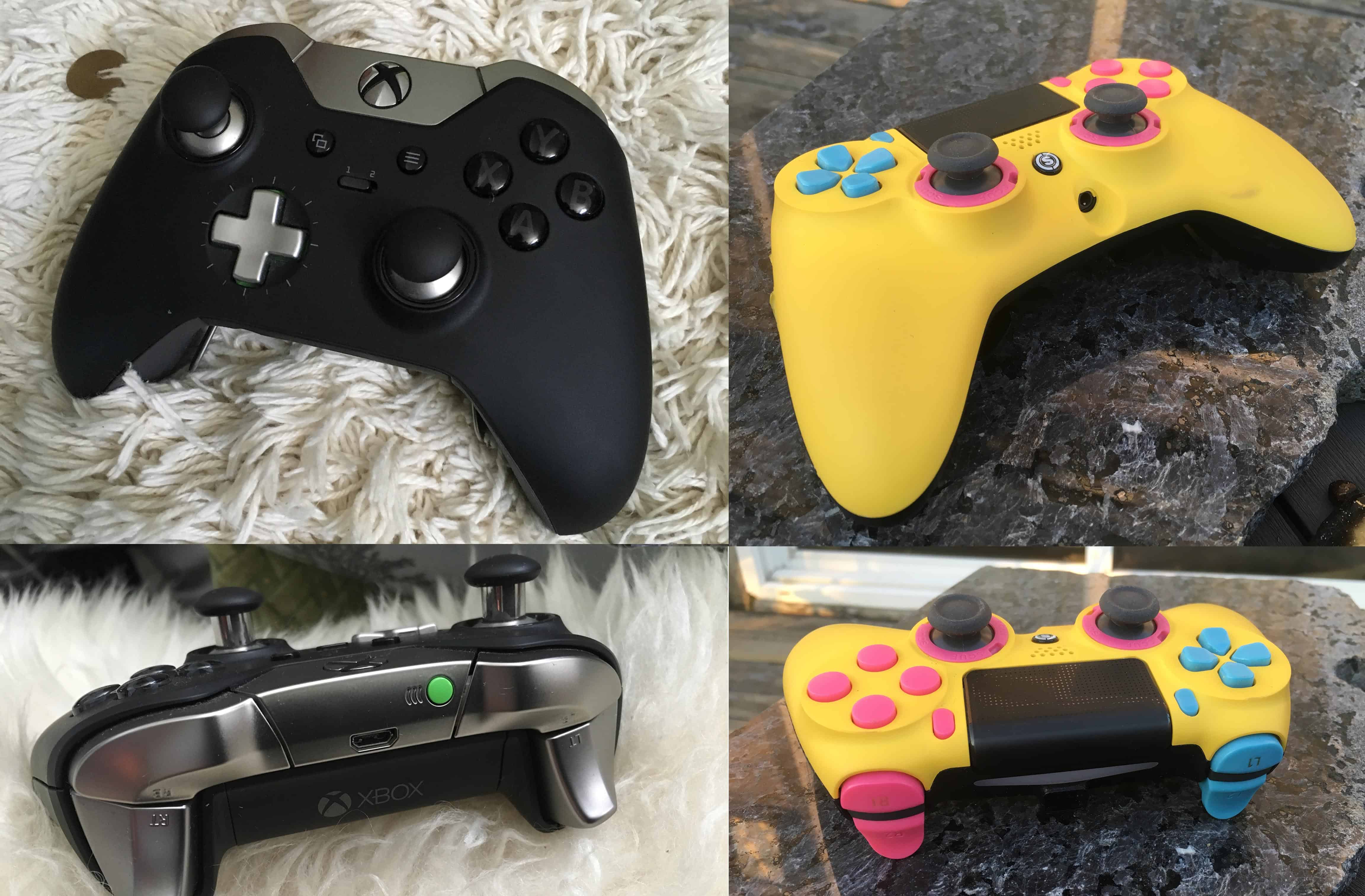 We Tested the Scuf Impact and the XBox Elite Controllers for Playstation. Here's What We Found.