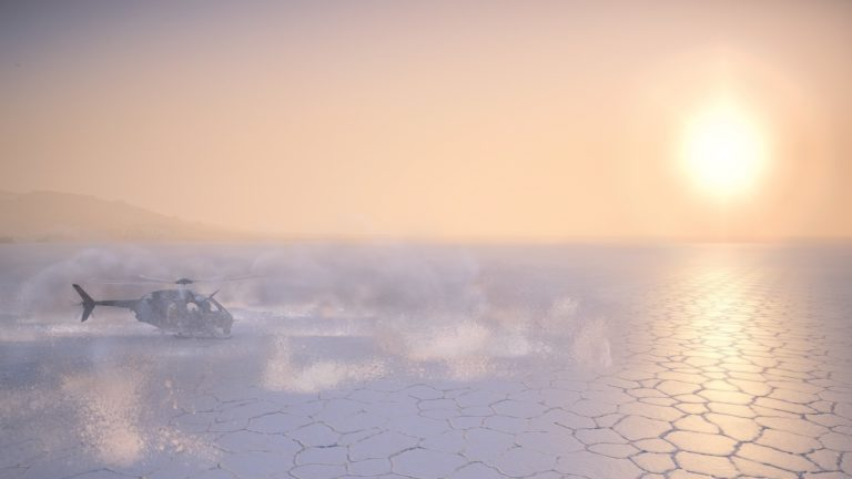 saltflats in ghost recon wildlands