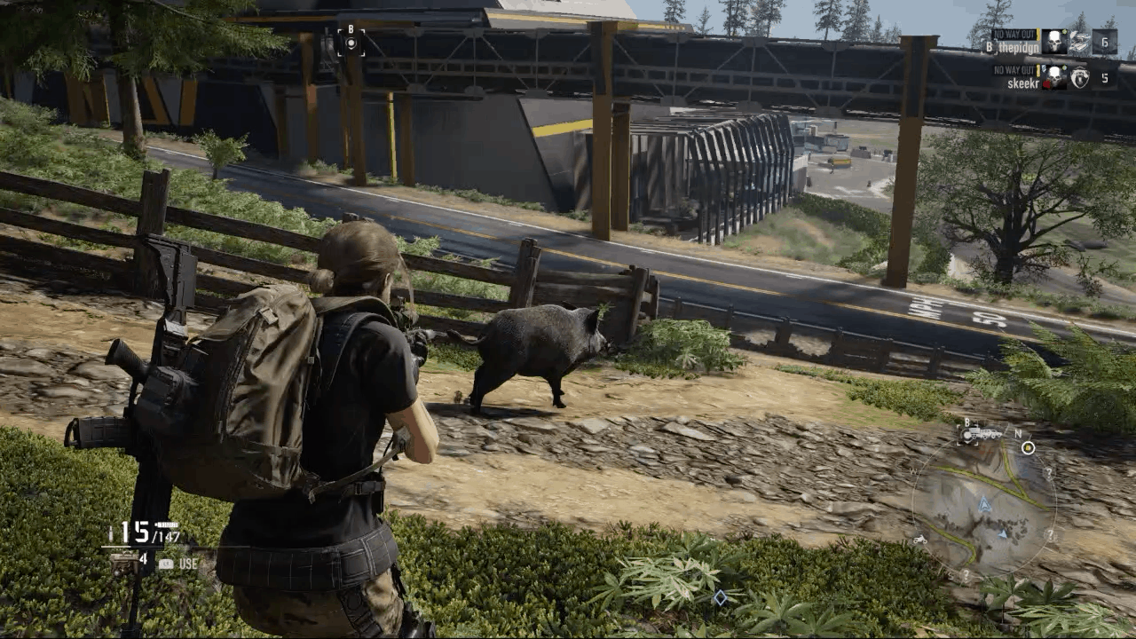 Feral Pig in Ghost Recon Breakpoint