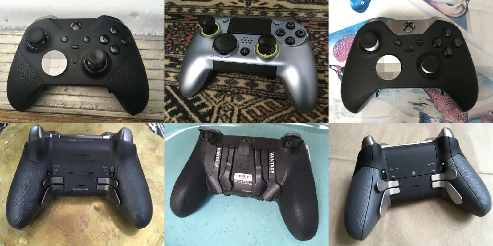 Controller Wars: Xbox Elite 2 Versus Scuf Vantage 1 Versus Xbox Elite 1