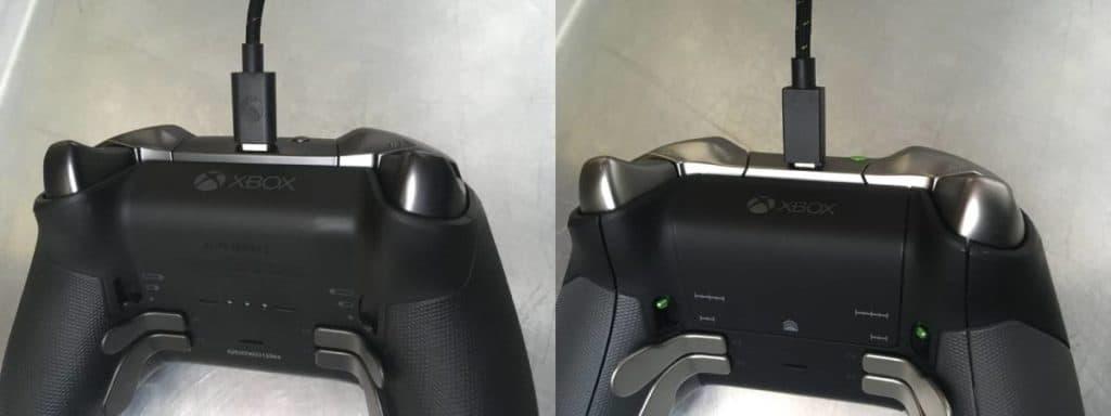 Xbox Elite 2 and Xbox Elite 1 port connection