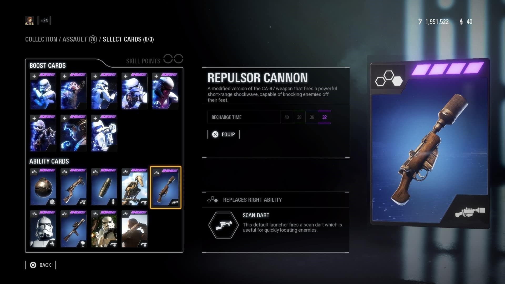 assault star cards Star Wars Battlefront 2