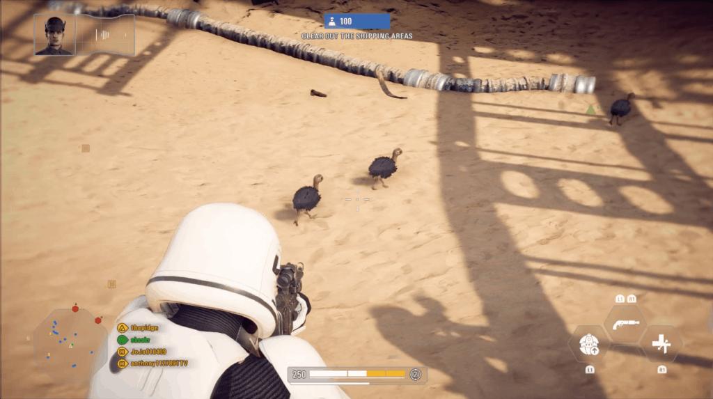 cute birds in Battlefront 2