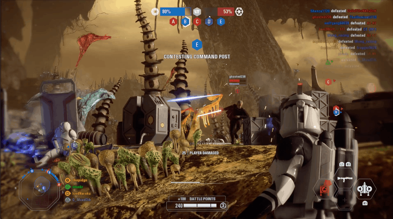 Star Wars Battlefront 2 Supremacy still